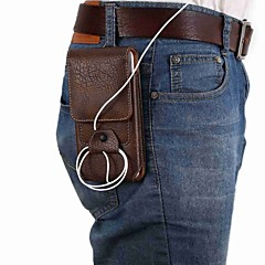 Недорогие Универсальные чехлы и сумочки-Кейс для Назначение SSamsung Galaxy S9 Plus / S9 Бумажник для карт Мешочек Однотонный Мягкий Кожа PU для S9 / S9 Plus / S8 Plus