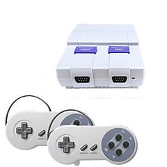 abordables Videoconsolas-SUPER MINI SFC Con Cable Kits de controlador de juego Para PC ,  Kits de controlador de juego ABS 1 pcs unidad