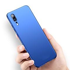 お買い得  Huawei Pシリーズケース/ カバー-ケース 用途 Huawei P20 Pro / P20 lite 超薄型 / つや消し バックカバー ソリッド ハード PC のために Huawei P20 / Huawei P20 Pro / Huawei P20 lite