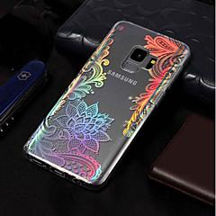 abordables Galaxy S3 Carcasas / Fundas-Funda Para Samsung Galaxy S9 / S9 Plus IMD / Diseños Funda Trasera Impresión de encaje Suave TPU para S9 Plus / S9 / S8 Plus