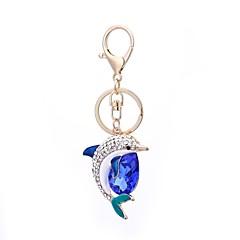 preiswerte Schlüsselanhänger-Delphin Schlüsselanhänger Blau Aleación Freizeit, Koreanisch Für Geschenk / Alltag
