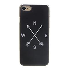 Недорогие Кейсы для iPhone 7-Кейс для Назначение Apple iPhone X / iPhone 7 Ультратонкий / С узором / Милый Кейс на заднюю панель Слова / выражения Мягкий ТПУ для iPhone X / iPhone 8 Pluss / iPhone 8