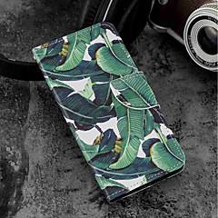 Недорогие Чехлы и кейсы для Motorola-Кейс для Назначение Motorola MOTO G6 / Moto G6 Plus Кошелек / Бумажник для карт / со стендом Чехол дерево Твердый Кожа PU для MOTO G6 / Moto G6 Plus / Moto G5s Plus