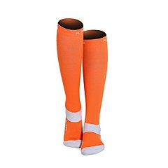 abordables Calcetines-Un Color Hombre / Mujer Calcetines de compresión Primavera, Otoño, Invierno, Verano A prueba de resbalones / Listo para vestir Nailon