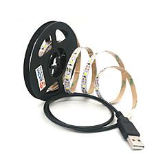 preiswerte LED Lichtstreifen-ZDM® 2m Leuchtgirlanden 300 LEDs SMD 2835 Warmes Weiß / Kühles Weiß Schneidbar / USB / Verbindbar USB angetrieben 1pc / Selbstklebend