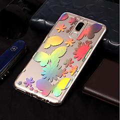 Недорогие Чехлы и кейсы для Huawei Mate-Кейс для Назначение Huawei Mate 10 lite / Mate 10 pro Покрытие / С узором Кейс на заднюю панель Бабочка Мягкий ТПУ для Mate 10 lite /
