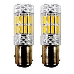 Недорогие Фары для мотоциклов-2pcs BAY15D (1157) / 1157 Мотоцикл / Автомобиль Лампы 5 W SMD 7020 33 Светодиодная лампа Лампа поворотного сигнала / Мотоцикл / Задний