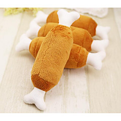 cheap Cat Toys-Chew Toy Cartoon Toy / Bone Plush Fabric For Dogs / Cats