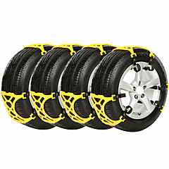cheap Automotive Exterior Accessories-12pcs Car Snow Chains Business Buckle Type For Car Wheel For General Motors General Motors All years