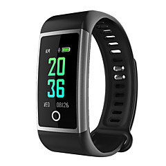 abordables Relojes Inteligentes-Waterproof / Reloj elegante / Pulsera inteligente YY-M18 para Android 4.4 / iOS Medición de la Presión Sanguínea / Calorías Quemadas / Podómetros / Anti-perdida / Control APP Pulse Tracker