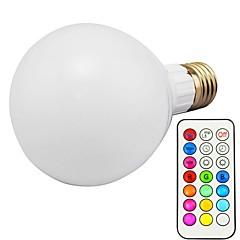 preiswerte LED-Birnen-1pc 10W 800lm E26 / E27 Smart LED Glühlampen G80 18 LED-Perlen SMD 5730 Abblendbar Dekorativ Ferngesteuert RGBWW RGBW 85-265V