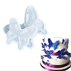 お買い得  ベイキング用品&ガジェット-ベークツール プラスチック クリエイティブ / DIY クッキー / Cupcake / キャンディのための ケーキ型 / クッキーカッター 2pcs