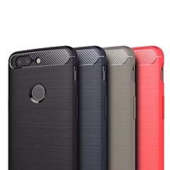 お買い得  その他のケース-ケース 用途 OnePlus OnePlus 5T 超薄型 バックカバー ソリッド ソフト TPU のために OnePlus 5T