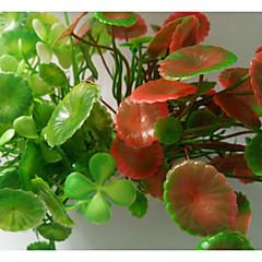 お買い得  アクアリウムデコレーション-アクアリウムの装飾 / Waterproof 水草 / 植物 デコレーション / 洗濯可 プラスチック