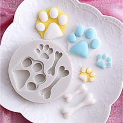 お買い得  ベイキング用品&ガジェット-ベークツール シリコーン ホリデー / 3Dカトゥーン / 創造的 ケーキ / チョコレート / 調理器具のための 円形 ケーキ型 1個