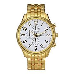 お買い得  ラグジュアリー腕時計-男性用 ドレスウォッチ 中国 クロノグラフ付き / クリエイティブ / 大きめ文字盤 ステンレス バンド ぜいたく シルバー