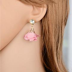 preiswerte Ohrringe-Tropfen-Ohrringe - Blume Modisch, Elegant Rot / Leicht Rosa Für Geschenk / Party