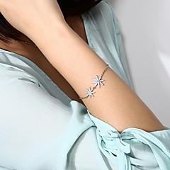 preiswerte Armbänder-Damen Einzelkette Ketten- & Glieder-Armbänder - Stern Romantisch, Koreanisch, Süß Armbänder Gold / Silber Für Alltag / Festival