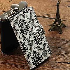 Недорогие Кейсы для iPhone-Кейс для Назначение Apple iPhone X / iPhone 8 Plus Кошелек / Бумажник для карт Чехол Кружева Печать Твердый Кожа PU для iPhone X / iPhone 8 Pluss / iPhone 8