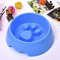 abordables Artículos para Perros-6 L L Perros / Conejos / Gatos Cuencos y Botellas de Agua / Alimentadores Mascotas Cuencos y Alimentación Portátil / Mini / Entrenador Verde / Azul / Rosa