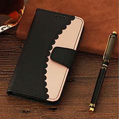 Недорогие Чехлы и кейсы для Xiaomi-Кейс для Назначение Xiaomi Redmi Примечание 5A / Mi 5X Кошелек / Бумажник для карт / со стендом Чехол Однотонный Твердый Кожа PU для Redmi Note 5A / Xiaomi Redmi Note 4X / Redmi 5A