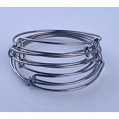 preiswerte Armbänder-Damen Armreife / Armband - Edelstahl Metallisch, Einfach, Modisch Armbänder Silber / Grau / Rotgold Für Geschenk / Alltag