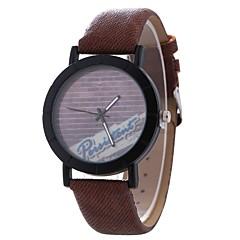 preiswerte Damenuhren-Xu™ Damen Kleideruhr / Armbanduhr Chinesisch Kreativ / Armbanduhren für den Alltag / Großes Ziffernblatt PU Band Freizeit / Modisch Schwarz / Braun / Grau