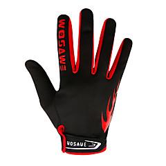 preiswerte Autozubehör-WOSAWE Vollfinger Unisex Motorrad-Handschuhe Polyester Touchscreen / Atmungsaktiv / Wasserdicht