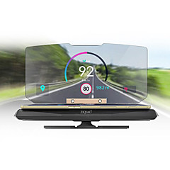 Недорогие Приборы для проекции на лобовое стекло-ziqiao универсальный мобильный GPS навигационный кронштейн hud head up дисплей для смартфона держатель телефона держатель телефона