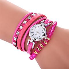 preiswerte Damenuhren-Xu™ Damen Armband-Uhr / Armbanduhr Chinesisch Kreativ / Armbanduhren für den Alltag / bezaubernd PU Band Böhmische / Modisch Schwarz / Weiß / Blau