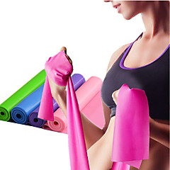 abordables Bandas de Resistencia-Bandas para ejercicio de resistencia Con 1 pcs Emulsión Eslático Entrenamiento de fuerza, Terapia física por Yoga / Pilates / Fitness Hogar / Oficina