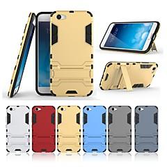 お買い得  その他のケース-ケース 用途 Vivo X9 Plus / X9 スタンド付き バックカバー ソリッド ハード PC のために Vivo X9 Plus / Vivo X9