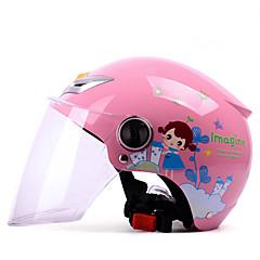 お買い得  カーアクセサリー-YEMA 207 ハーフヘルメット 子供 男女兼用 オートバイのヘルメット 堅牢性 / チャイルドセーフケース / 高通気性