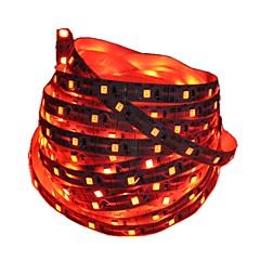 preiswerte LED Lichtstreifen-1m Flexible LED-Leuchtstreifen 60 LEDs 2835 SMD Rot / Blau Schneidbar / Dekorativ / Selbstklebend Batterien angetrieben 1pc