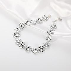 お買い得  ネックレス-女性用 スタック チョーカー  -  欧風, ファッション ホワイト 30 cm ネックレス 1個 用途 カジュアル
