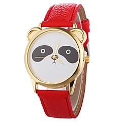 お買い得  レディース腕時計-Xu™ 女性用 リストウォッチ 中国 クリエイティブ / クール / 大きめ文字盤 PU バンド ミニマリスト / スケルトン ブラック / 白 / ブルー