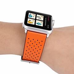 abordables Novedades-Ver Banda para Apple Watch Series 4/3/2/1 Apple Correa de Cuero Cuero Auténtico Correa de Muñeca