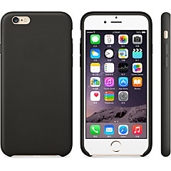 Недорогие Кейсы для iPhone 7 Plus-Кейс для Назначение Apple iPhone 7 Plus / iPhone 6 Plus Матовое Кейс на заднюю панель Однотонный Мягкий Силикон для iPhone 8 Pluss / iPhone 8 / iPhone 7 Plus