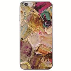 Недорогие Кейсы для iPhone 6-Кейс для Назначение Apple iPhone X / iPhone 8 Ультратонкий / С узором Кейс на заднюю панель Масляный рисунок Мягкий ТПУ для iPhone X / iPhone 8 Pluss / iPhone 8