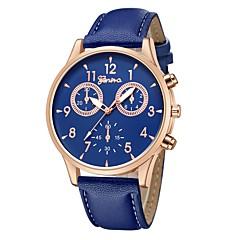 preiswerte Damenuhren-Geneva Armbanduhr Sender Neues Design, Armbanduhren für den Alltag, Cool Braun / Rotgold / Weiß / Schwarz / Rotgold / Ein Jahr / Ein Jahr