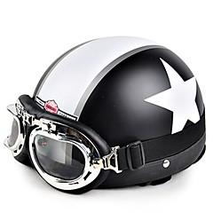 cheap Motorcycle Helmets-HEROBIKER TK-01 Half Helmet Adults / Teenager All / Unisex Motorcycle Helmet  Anti-Wind / Anti-Dust / Thermal / Warm