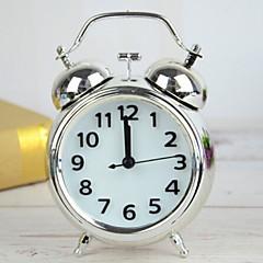 abordables relojes-Reloj despertador Analógico Metal Cuarzo 1 pcs