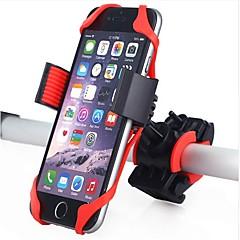 abordables Grips-Montura de Teléfono para Bicicleta 360 Rotating Bicicleta Plásticos / Gel de Sílice Negro / Rojo