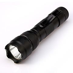 abordables Linternas-ismartdigi i-502CI Linternas LED Portátil / A prueba de resbalones Camping / Senderismo / Cuevas / De Uso Diario / Caza Negro