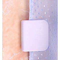 abordables Almacenamiento para Dormitorio y Salón-El plastico Rectángulo Nuevo diseño Casa Organización, 1pc Ganchos de Pared