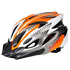 abordables Cascos-Adulto Casco de bicicleta 18 Ventoleras ESP+PC Deportes Ciclismo / Bicicleta / Bicicleta - Negro / Rojo / Negro / azul / Plata + naranja Unisex