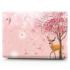 billiga MacBook-tillbehör-MacBook Fodral Blomma Plast för Ny MacBook Pro 15'' / Ny MacBook Pro 13'' / MacBook Pro 15 tum