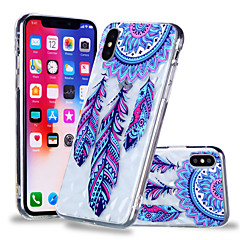 Недорогие Кейсы для iPhone 6-Кейс для Назначение Apple iPhone X / iPhone 8 Plus С узором Кейс на заднюю панель Ловец снов Мягкий ТПУ для iPhone X / iPhone 8 Pluss / iPhone 8