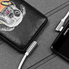 abordables Cables y Adaptadores para Teléfono-Tipo C Adaptador de cable USB Alta Velocidad / Carga rapida Cable Para Samsung / Huawei / Xiaomi 120 cm TPE