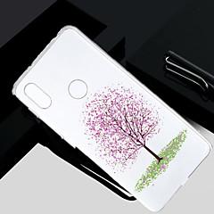 Недорогие Чехлы и кейсы для Xiaomi-Кейс для Назначение Xiaomi Redmi S2 / Mi 5X Прозрачный / Полупрозрачный / С узором Кейс на заднюю панель дерево Мягкий ТПУ для Redmi Note 5A / Xiaomi Redmi Note 4X / Xiaomi Redmi Note 4